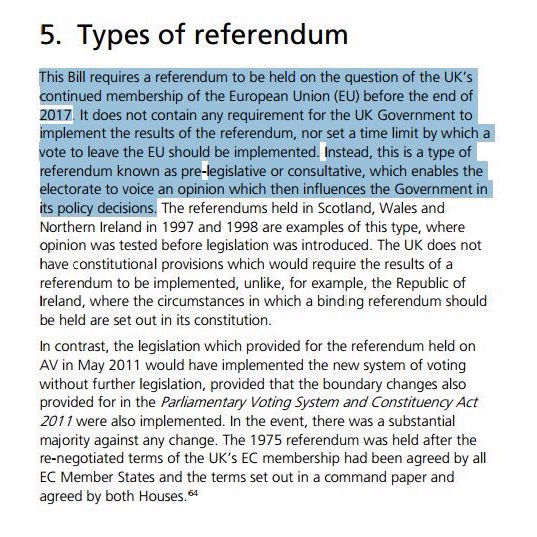 Referendum bill